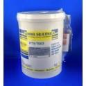 Gomma siliconica RTV tixo kg 1 con catalizzatore