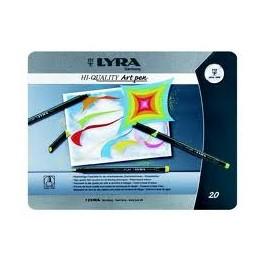 Lyra HI QUALITY Art pen pz 20