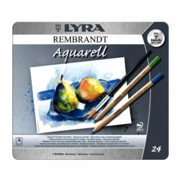 Lyra Rembrandt  Aquarell pz 24