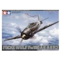 Kit Aereo Focke Wulf Fw 190 A8 Tamiya 1.48