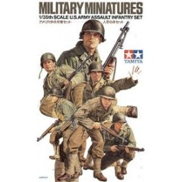 US Fanteria assalto Tamiya 1.35