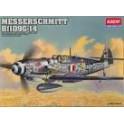 Kit Aereo Messerschmitt Bf109G-14 1.48 Academy