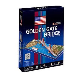 Puzzle 3D CubicFun - Golden Gate Bridge