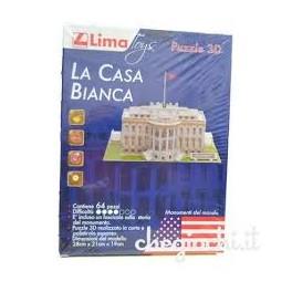 Puzzle 3D Lima - Casa bianca
