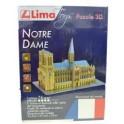 Puzzle 3D Lima - Notre Dame